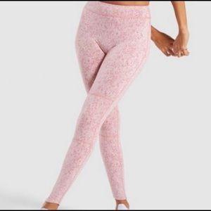 Gymshark Brick Fleur Texture Leggings